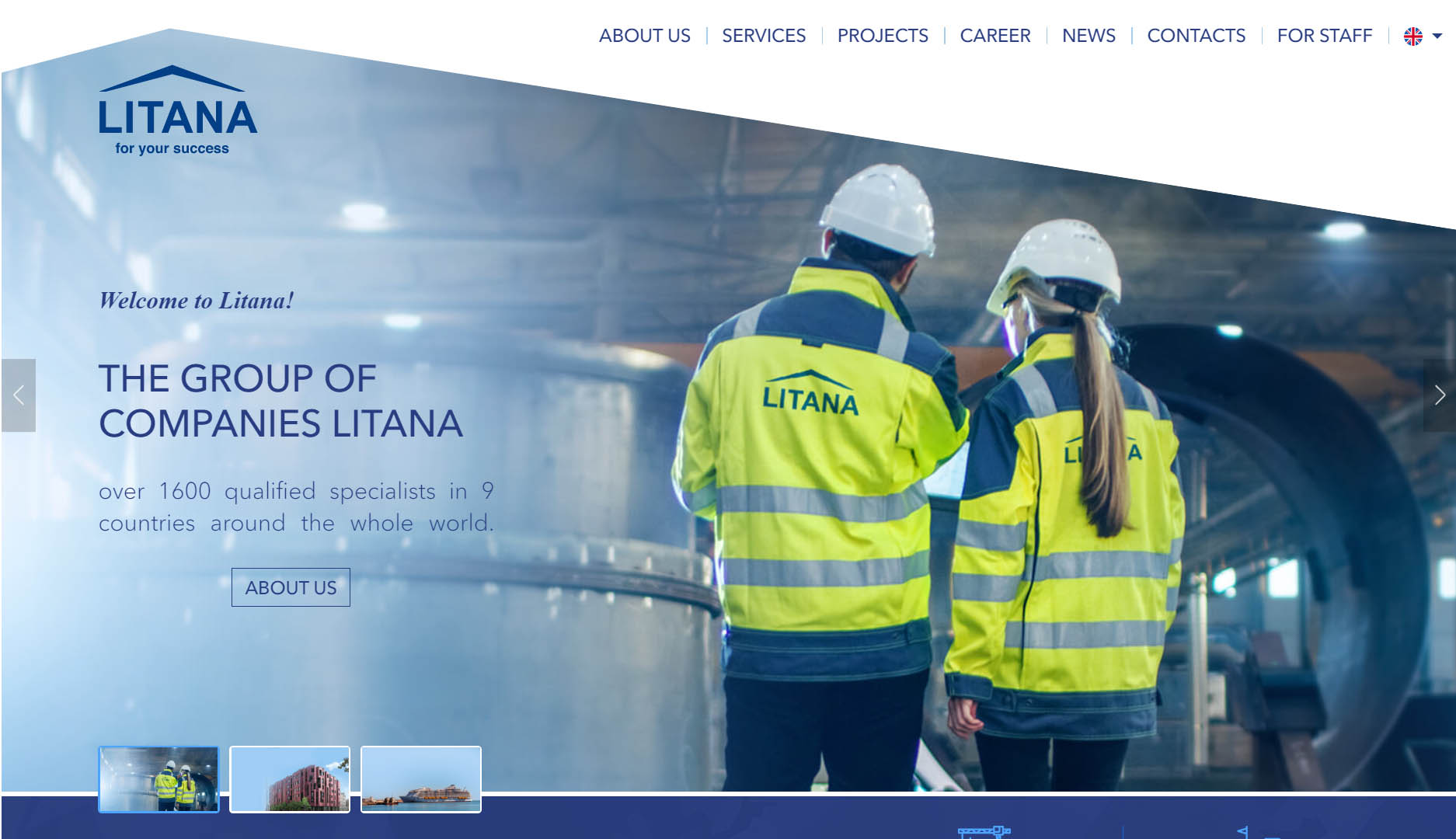 Litana front page